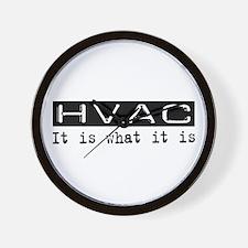 HVAC Is Wall Clock