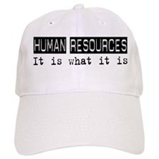 Human Resources Is Baseball Cap