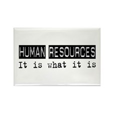 Human Resources Is Rectangle Magnet