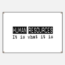 Human Resources Is Banner
