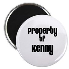 Property of Kenny Magnet