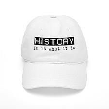 History Is Baseball Cap