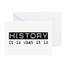 History Is Greeting Cards (Pk of 20)