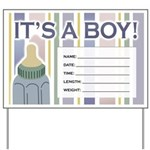 It's a Boy Newborn Baby Yard Sign