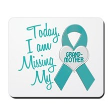 Missing My Grandmother 1 TEAL Mousepad