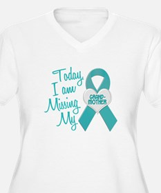 Missing My Grandmother 1 TEAL T-Shirt
