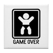 Game Over Tile Coaster