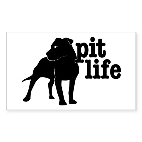 Pit Life Rectangle Sticker