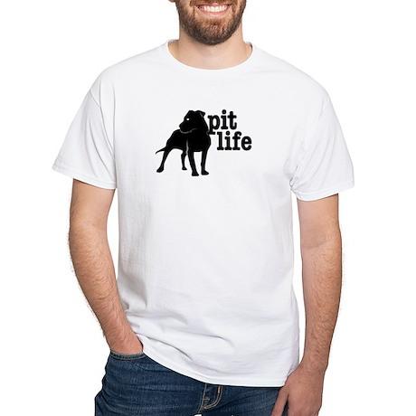 Pit Life White T-Shirt