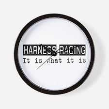 Harness Racing Is Wall Clock