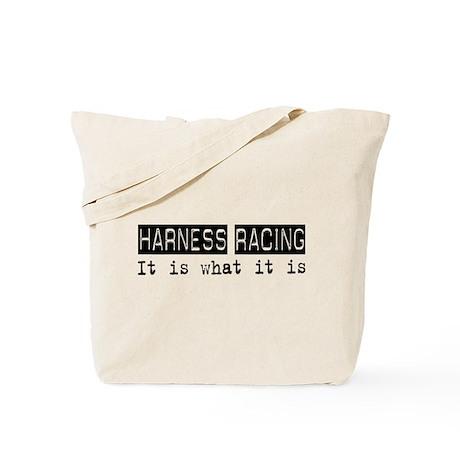 Harness Racing Is Tote Bag