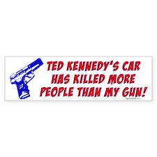 Ted Kennedy's Car Bumper Bumper Sticker