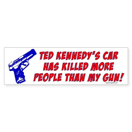 Ted Kennedy's Car Bumper Sticker