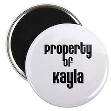 Property of Kayla Magnet