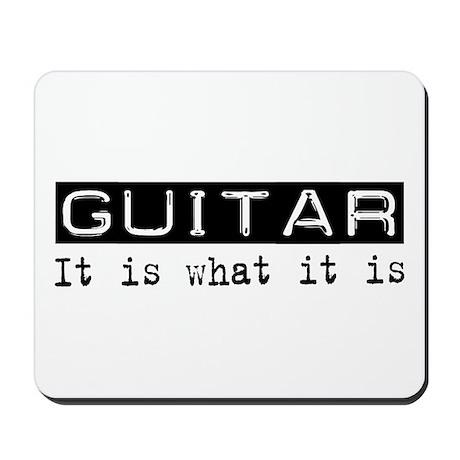 Guitar Is Mousepad