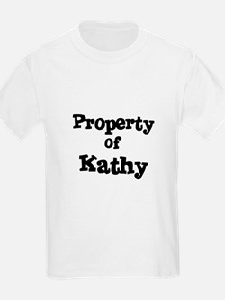 Property of Kathy Kids T-Shirt