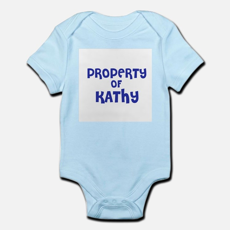Property of Kathy Infant Creeper