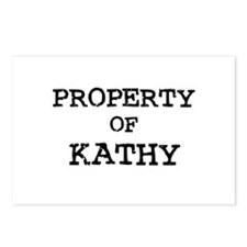Property of Kathy Postcards (Package of 8)