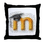 Moosaic Throw Pillow