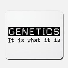 Genetics Is Mousepad