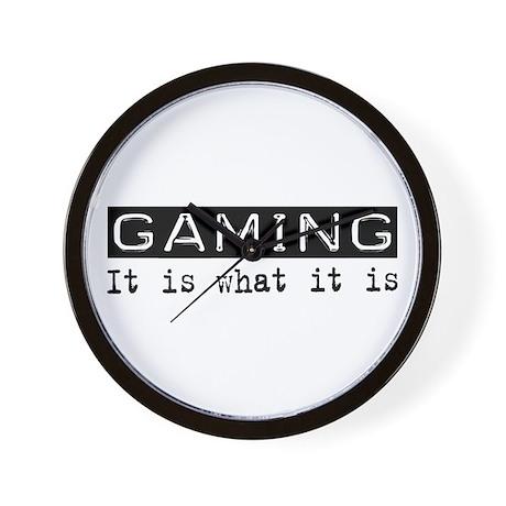 Gaming Is Wall Clock
