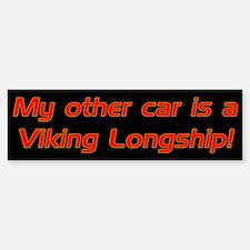 My other car is a Viking Long Bumper Bumper Bumper Sticker