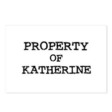 Property of Katherine Postcards (Package of 8)