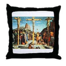 Mantegna's Crucifixion Throw Pillow