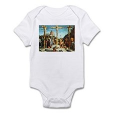 Mantegna's Crucifixion Infant Bodysuit