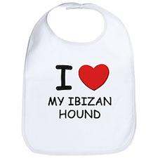 I love MY IBIZAN HOUND Bib