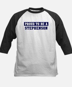 Proud to be Stephenson Kids Baseball Jersey