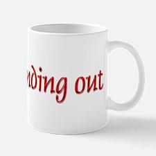 im not finding out -  Mug