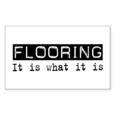 Flooring Is Rectangle Decal