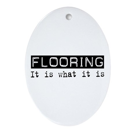 Flooring Is Oval Ornament