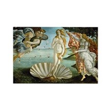 Botticelli's Birth of Venus Rectangle Magnet