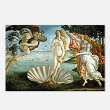 Botticelli's Birth of Venus Postcards (Package of