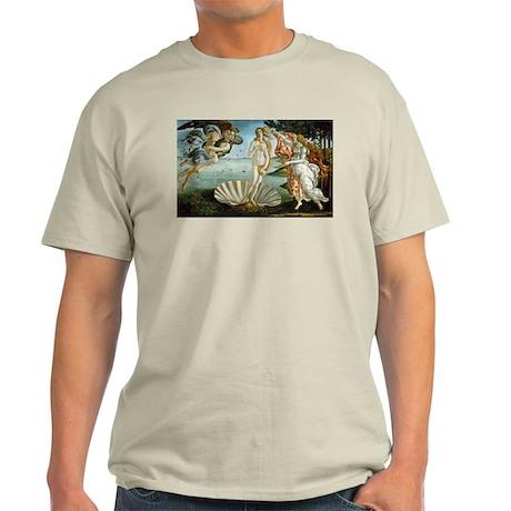 Botticelli's Birth of Venus Light T-Shirt