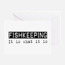 Fishkeeping Is Greeting Card