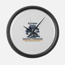 Oregon - Cannon Beach Large Wall Clock