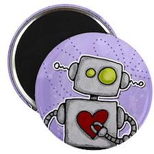 """love bot 2.25"""" Magnet (10 pack)"""