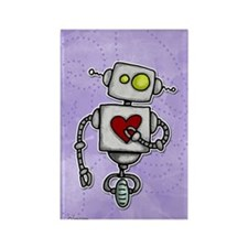 love bot Rectangle Magnet