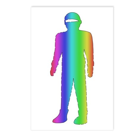 Gay Pride Robot Postcards (Package of 8)