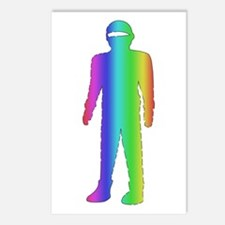 Gay Pride Robot Postcards (Package of 8)
