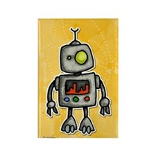 little bot Rectangle Magnet