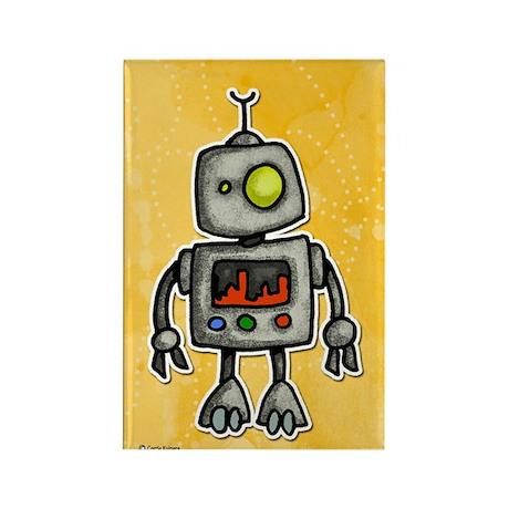 little bot Rectangle Magnet