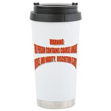 WARNING: Travel Mug
