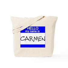 """""""Carmen"""" Tote Bag"""