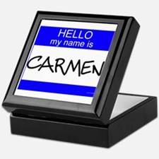 """""""Carmen"""" Keepsake Box"""