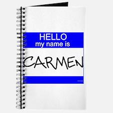 """""""Carmen"""" Journal"""