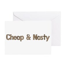 Cheap and Nasty Greeting Cards (Pk of 20)